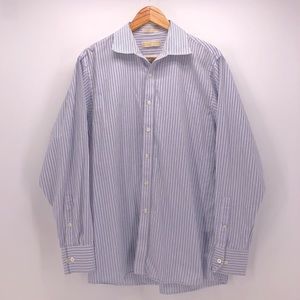 Men's Michael Kors Pinstriped Shirt
